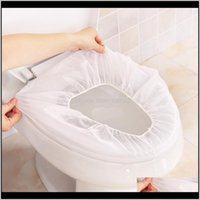 Ers Bath Home & Garden10 5 1Pcs Disposable Seat Er Mat Travel El Sanitary Safe Non-Woven Fabric Portable Toilet Pad Bathroom Aessories Drop