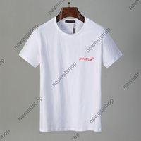 الصيف 2021 جديد مصممين القمصان رجل الملابس الزى إلكتروني الطباعة المرقعة اللون عارضة t-shirt المرأة الفاخرة تي شيرت اللباس تي بلايز