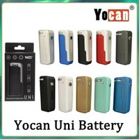 Yocan Uni коробка мод наборы 650mah предварительно нагрев VV вариабельный аккумулятор напряжения с адаптером магнитного 510 для толстого масляного картриджа VS Airis Kangvape TH420