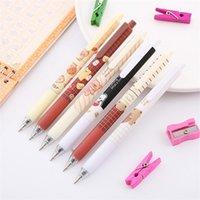 Gel Pens 6pcs lot Kawaii Press Cute Pen Creative Japanese Korean Stationery Office Accessories School Supplies