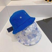남자를위한 가역 양동이 모자 모자 남성용 유니섹스 통기성 Stingy Brim 모자 패션 거리 캔버스 모자 4 색 고품질