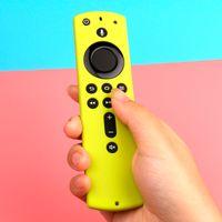실리콘 보호 케이스 화재 TV 스틱 4K 원격 제어 5.9 인치 커버 슬리브 Shockproof Anti-Slip 교체 큐브 II