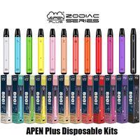 Authentische Vapden Plus Zodiac-Serie Einweg-E-Zigaretten-Geräte-Kit 800 Puffs 550mAh-Batterie 3,5ml Vorgefüllte Pod-Patrone Vape-Stift 100% Original vs Bar XXL