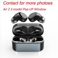 andd1y_top Air Gen 2 3 TWS Earphones Rename Pro Pop UP Window Bluetooth Headphone Auto Paring Wireless Charging Case Earbuds