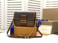 2021 Alta Qualidade Dauphine Moda Bags Ombro Bolsa Mulher Designer marca Messenger Bag Carteira