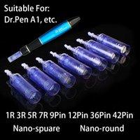 1/3/5/7/9 / 12/36 / 42 / Nano Pins / Ago Cartuccia per Derma Pen Microneedle Cura della pelle Dermaroller Dr.pen A1