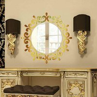 Wall Sticker Room Acrylic Decal Art DIY Mirror Light Decor Home Decoration JDH88 Stickers