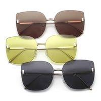 2020 New Fashion Sunglasses Coreano Brand Designer Glasses GM ModMO Designer Brand Designer Frameless Sunglasses Signore Occhiali da sole da donna