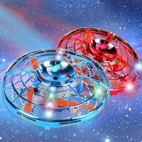 Kakbeir Voling Gyroscope UFO RC Drone Infrad Induction Aircraft Quadcopter Mise à jour des jouets pour enfants, Mini Hélicoptère Drones