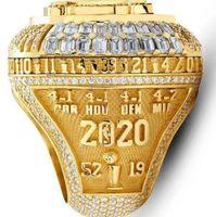 도매 2020 로스 앤젤레스 플레이어의 농구 챔피언 지르콘 반지 기념 선물