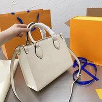 2021 Saco de compras de luxo Feminina Moda Feminina Designer Clássico Temperamento Um ombro Straddle sacos bolsa com caixa Siez 25 * 20cm