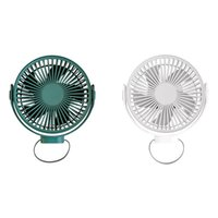 Electric Fans Mini Ceiling Fan Outdoor Tent Desktop Portable USB Rechargeable Fourth Gears Wind For Home Office