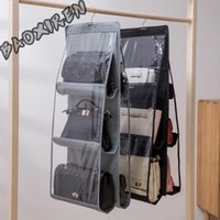 Duffel Bags Bag Collection Hanging Transparent Cloth Dust-proof Wardrobe Home Bedroom Artifac
