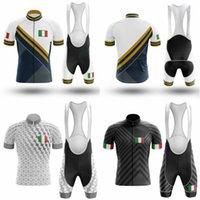 2020 Nuevo equipo de bicicletas Manga corta Maillot Ciclismo Hombre Ciclismo Jersey Verano Bicicleta transpirable Ciclismo Conjuntos de ropa