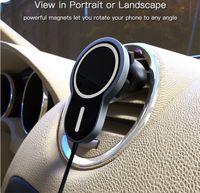 15 Вт Тип C Быстрая зарядка HandsFree Call Charger Magnet Wireless BT FM Smart Sensor Портативный автомобиль Adapte Holder Bracket