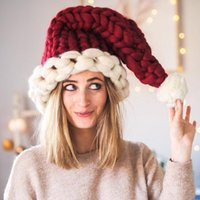 Wool Knit Hats Christmas Hat Fashion Home Outdoor Party Autumn Winter Warm Hat Xmas gift party favor indoor tree decor For Adult Chind
