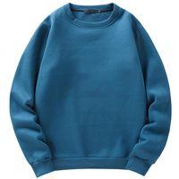 Sweats à capuche pour hommes Sweatshirts Parklees 2021 Automne Harajuku Polaire surdimensionné Hommes élégant Street Casual Streetwear O-Cou Lâche Unisexe Pullo