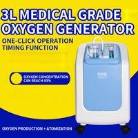 Oxygen Générateur Négatif Ion Atomizing Fonction Inhalation Faire la machine 1L / 3L Distributeurs de serviettes humides