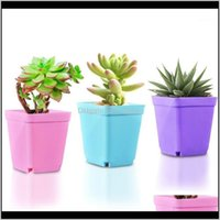 Planters Pots Patio, Lawn Home & Gardencreative Desktop Plant Potted Flower Pot Tray Mini Plastic Personalized Garden Supplies Breathable Go