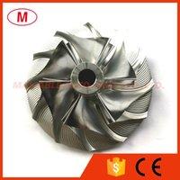 TA31 409096-0011 37.74 / 60.25 мм 6 + 6 Лезвие Turbo Clipet Compreater Compressor / из алюминия 2618 / Фрезерное колесо для 452012-0001 Турбоэдровый картридж / Chra / Core