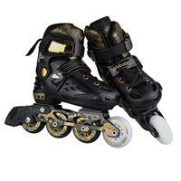 Robe Chaussures Femmes Rouleaux Femmes Skates Chrome Roulement à billes chromées et Général Adult Adultness Taille Réglable Taille Skates # 3