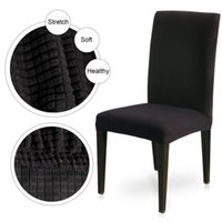 Chair Covers 1 4 6pcs Dining Cover Jacquard Spandex Slipcover Protector Case Stretch For Kitchen Seat El Banquet Elastic