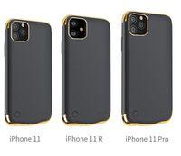 Fundas del banco de energía de la batería para 11 12 Pro Max iPhone 7/8 Plus x xr xs cargador caso a prueba de golpes delgado delgado