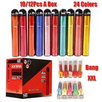 Bang XXL Disposable Device 800mAh Battery Pre-filled 6ml Pod 2000 Puffs XXtra Kits Vape Pen VS Bar Plus XL Dazzle Pro