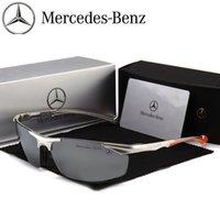 [Mercedes Benz 4S Mağaza] Yeni Yüksek Dereceli Alüminyum Magnezyum Polarize Güneş Gözlüğü Erkekler ve Açık Sürüş Güneş Gözlüğü