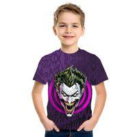 Joker 3d erwachsener Kinder Kurzarm T-Shirt für Männer und Frauen für Männer und Frauen