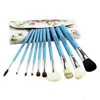 Makeup Brushes 10Pcs Tool Set Cosmetic Powder Eye Shadow Foundation Blush Blending Cosmetics Brush Beauty Tools