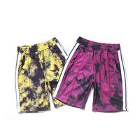 21SS MENS para mujer deportes pantalones cortos Tracks Tracksuits Sweatshirts Trajes Integral Entrenamiento Retro Stripes Paisley Ocio de gran tamaño EE.UU. UE S M LXL