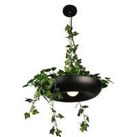 Sarkıt Bitki Işıkları DIY Nordic Gökyüzü Bahçe LED Lamba Saksı Asılı Yemek Odası Restoran Aydınlatma Armatürleri Ev Dekorasyonu