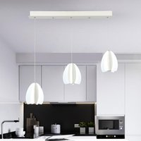 Modern Minimalist Style LED Chandelier Bedroom Study Restaurant Lighting Creative Personality Art Lamps Pendant