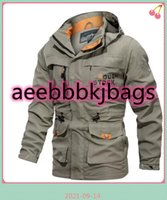 Outdoor Waterproof Soft Shell Jacket Hunting Windbreaker Ski Coat Hiking Rain Camping Fishing Tactical Clothing Men