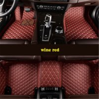 Flash mat leather car floor mats for Dodge Charger Custom foot
