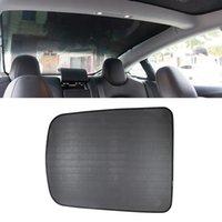 자동차 리어 글래스 지붕에 대한 WTYD TESLA 모델 3에 대한 뒷면 유리 지붕 Sunshade Car Skylight Blind Shading Net