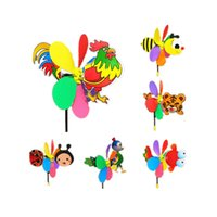 Children Toy Colorful Novelty Games Cartoon Animals Tail Windmill Outdoor Three-dimensional Plastic Toys