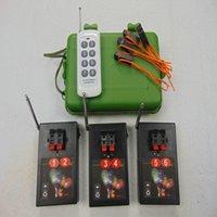 6 coffrets de la soirée-boîte Fournitures Fireworks Système de tir sans fil Affichage de l'interrupteur sans fil 433mHz Remote Wighon Wire Controller étanche électrique Connectez-vous