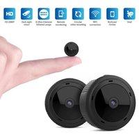 Mini Kameralar W10 Kamera 1080 P Bebek Monitörü Kablosuz Wifi DVR Gece Görüş Uzaktan Kumanda İzleme Güvenlik Koruma Algılama