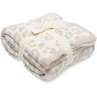 Yalınayak rüyalar battaniye üst satmak süper yumuşak 100% polyester mikrofiber tüy iplik leopar zebra jakarlı örgü atmak battaniye 597 s2 atmak