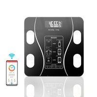 Масштаб для тела Smart BMI беспроводной цифровой цифровой ванной комната композиция анализатор со смартфоном приложение Bluetooth весы