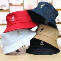 Digner Cotton Bucket Hat for Men Women Kangol Outdoor Sport Fishing Cap Summer Sun Beach Fisher Headwear Travel Climb Brand High Quality