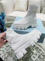 Paris Fshion Week Runway catwalk designer women's boots fashion thick bottom dark sewing height 5.5cm warm outdoor snow mountain women shoebox 35-41