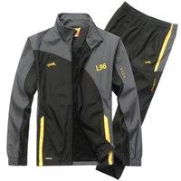 ECTİK Erkek Spor Takım Elbise Eşofman Spor Takım Elbise Erkek Koşu Takım Elbise Hızlı Kuru Egzersiz Fitness Koşu Spor Salonu Erkekler Eşofman Setleri