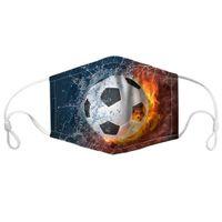 공 게임의 남성과 여성을위한 마스크 스포츠 PM2. 5.면 방진 3D 인쇄가 필터 요소를 교체 할 수 있습니다.