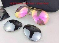 2021 Luxurys 디자이너 선글라스 여름 안경 여성 패션 멋진 안경 남자들은 케이스 A29와 렌즈를 설정합니다