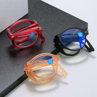 Sunglasses Men Foldable Reading Glasses Women Folding Presbyopia Anti Blue Light Presbyopic With Case 1.0 1.5 2.0 2.5 3.0 3.5 4.0