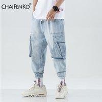 Pantolon Chaifenko Çok Cep Harem Hip Hop Pop Pantolon Streetwear Erkek Rahat Moda Kargo Erkekler Jogger Kot