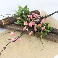 Flo flono artificiale finto fico falso da 110 cm Primavera Big Plum Blossom Flower Flower Branch Home Una decorazione di fiori di nozze decorazione corone decorativo